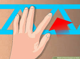 Painting Designs On Walls 6 Ways To Paint Designs On Walls Wikihow