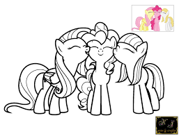 my little pony pinkie pie coloring pages