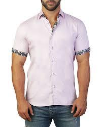 Maceoo Size Chart Mens Galileo Castle Short Sleeve Sport Shirt