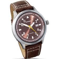 sekonda military bronze dial brown leather strap mens single tone sekonda military bronze dial brown leather strap mens watch 3882