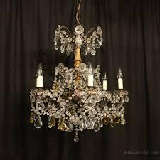 floine 6 light antique chandelier