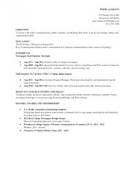 Current College Student Resume Examples College Student Resume Examples Resumes Pdf Summer Job Thomasbosscher 15