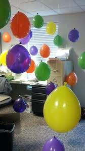 birthday decorations for the office decorate