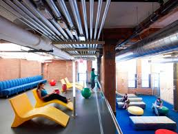 google office spaces. A Lounge And Workspace In Google\u0027s Chelsea Market Office Where Employees Can Get Together For Google Spaces \