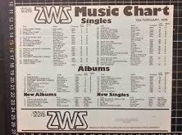 Australian Pop Charts Details About 2ws Top 40 Pop Music Chart 12 2 79 Record Shop Flier Sydney Australian Radio Oz