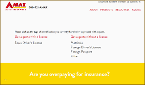 Amax Insurance Quote
