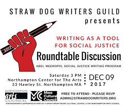 writing as a tool for social justice roundtable discussion