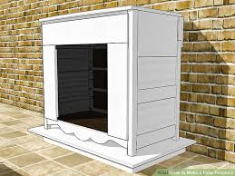 HowTo Build A Wood Log Faux Fireplace Insert  Family HandymanHow To Build A Faux Fireplace