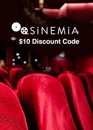 use sinemia promo code for a 10 theater