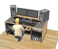 home studio desk plans recording studio rack recording studio desk here are some shots from the desk construction 3 diy build plans for