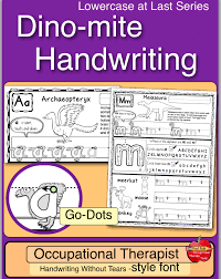 Handwritting Practice Dinosaur Handwriting Practice Dino Mite Handwriting