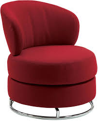 popular of round swivel accent chair furniture round red armless swivel accent chair with back and
