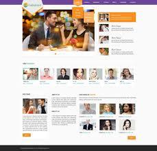 Online Dating Website Design Professional Bold Dating Web Design For Galabant By Dream