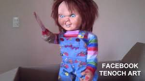 life size chucky doll chucky life size talking doll childs play 2 tenoch art youtube