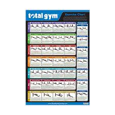 Total Gym Wall Chart Download Total Gym Exercise Chart