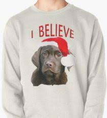 chocolate lab themed pullover
