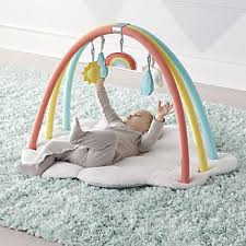 Rainbow Baby Activity Gym kids Play Mats \u0026 Gyms | Crate and Barrel