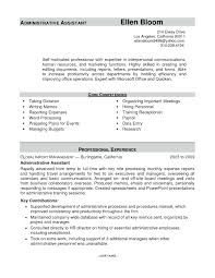 Office Administrator Resume Sample Job Interview Administrative