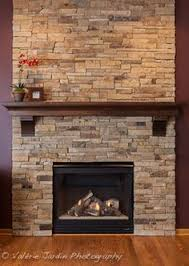 Fireplace Mantel with Corbels With Custom Crown made of Knotty Alder-  Vanderbelt. Fireplace FacadeStone Fireplace MantelStacked ...