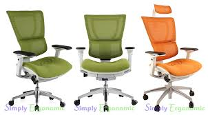 white frame office chair. Mirus Mesh Office Chair With White Frame Enlarge R
