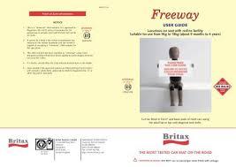 britax freeway user guide