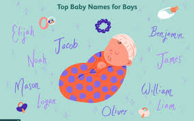 boy and baby names ending in