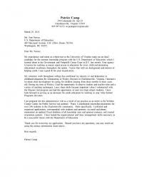 Sample Cover Letter For Internship Extraordinary Cover Letter Samples UVA Career Center