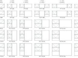 Standard Single Hung Window Size Chart Standard Window Size Chart Home Depot Invisurf Info