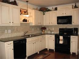Image White Cabinets With Black Appliances Pinterest White Cabinets With Black Appliances Kitchen Pinterest Kitchen
