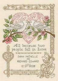 Wedding Cross Stitch Patterns Impressive Imaginating All Because Cross Stitch Pattern 48Stitch