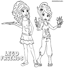 Small Picture Friends Coloring Pages Archives For Coloring Pages Of Lego Friends