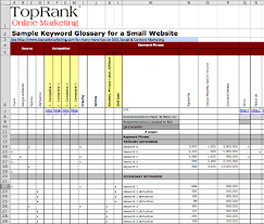 Download: Optimize Templates For Keyword Glossary & Editorial Plan