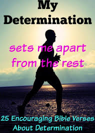 25 Encouraging Bible Verses About Determination