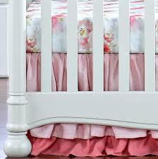 fl crib bedding set fl baby bedding sets pink watercolor fl crib bedding set with crib