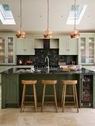 the best in dark green kitchen trends