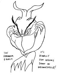 Small Picture Coloring Pages Coloring Page How The Grinch Stole Christmas Pages