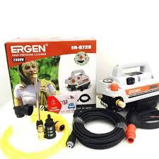 SIÊU RẺ] Máy rửa xe Ergen EN-6728 (có điều chỉnh áp lực) Máy rửa xe mini  gia đình công suất 2800W moter lõi đồng cảm ứng từ tự động hút và ngắt
