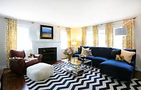 black and white rug decor chevron stripes can add a chic touch to any décor