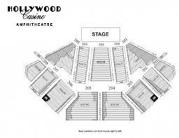 Amazing And Stunning Hollywood Casino Amphitheatre Seating