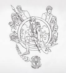 Hunger Games Logo Coloring Pagesl
