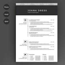 Indesign Resume Template Graphicriver Adobe Free Tutorial Format
