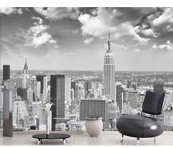 8d papel murals wall paper black white new york city scenery 3d photo mural wallpaper for living
