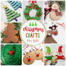 Christmas Photo Kids 25 Easy Christmas Crafts For Kids Crazy Little Projects