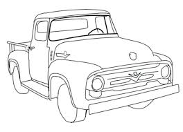 ford f150 coloring page trucks pages worksheet lifted truck drawing at com free for personal use tow f 150 colouring