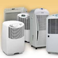 small, portable, closet and room dehumidifiers for the home