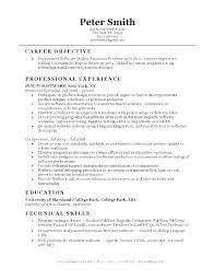 Quality Engineer Resume Unique Resume Objective Examples For Qa Packed With Quality Engineer Resume