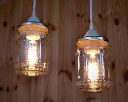 Image Mason Pendant Light Of Canning Jar Mason Jar Rustic Light Lamp Lighting Fixtures Etsy Mason Jar Lighting Etsy