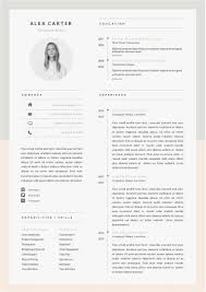 Contemporary Resume Templates Download Modern Resume Template