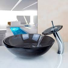 Glass Sink Bathroom Popular Glass Sink Bathroom Buy Cheap Glass Sink Bathroom Lots