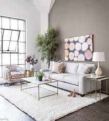 gold coffee tables living room fresh chasca glass top gold oval